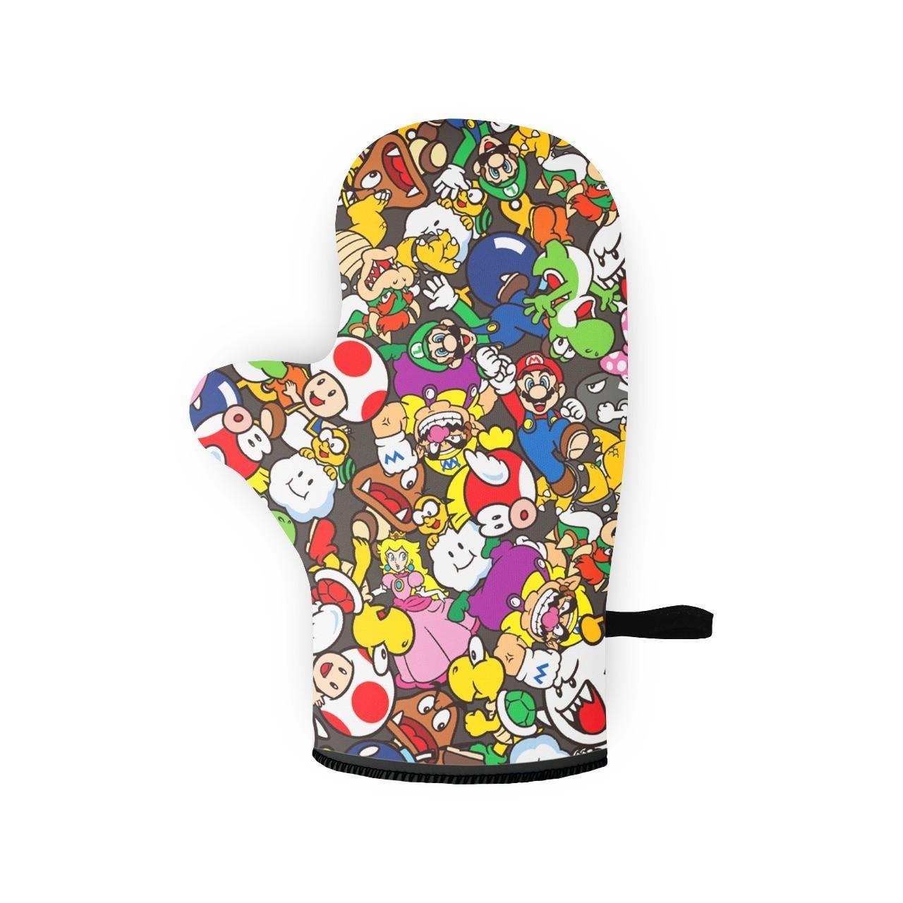 Luva de Forno/Cozinha Personagens: Super Mario Bros - EV