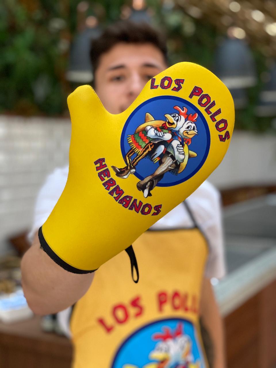 Luva de Forno/Cozinha Pollos: Breaking Bad
