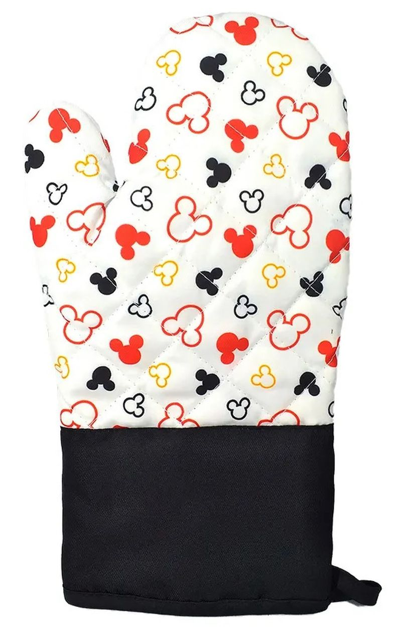 Luva de Forno/Cozinha Mickey Mouse: Disney (Branco)