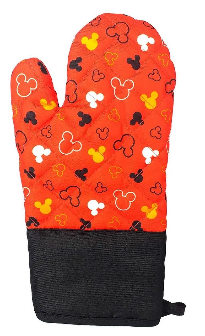 Luva de Forno/Cozinha Mickey Mouse: Disney (Vermelho)