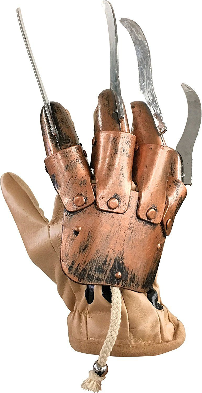 Luva Cosplay Freddy Krueger (Deluxe Glove): A Nightmare on Elm Street