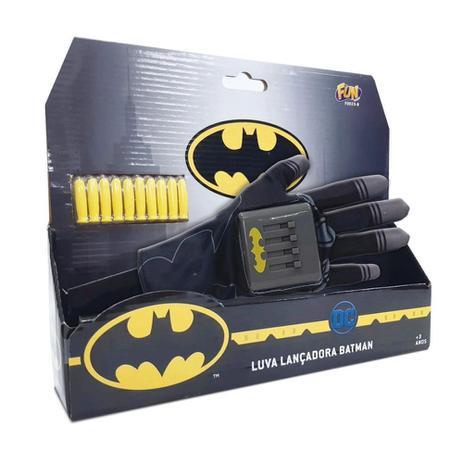 Luva Lançadora Batman Dc Comics - Mattel