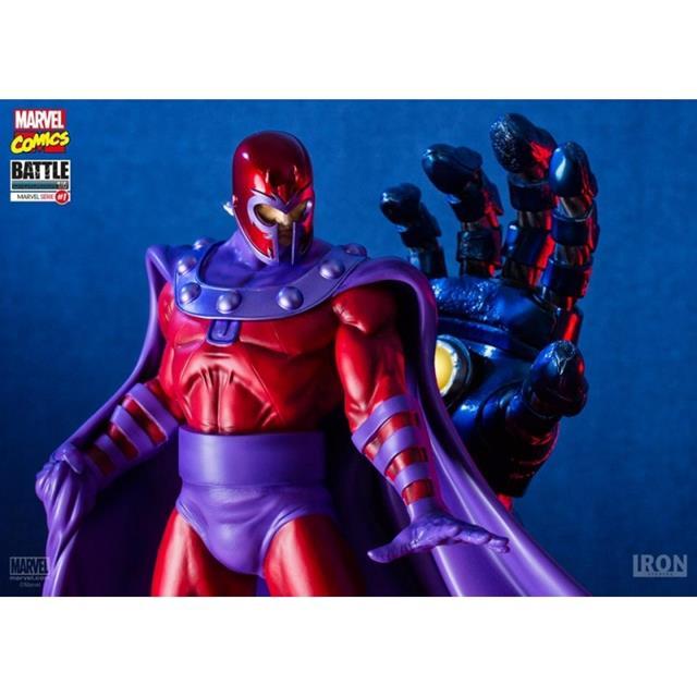 Magneto vs Sentinel Marvel Comics Diorama 1/6 - Iron Studios (Produto Exposto)