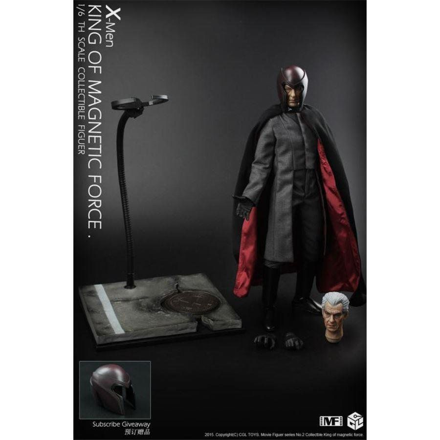 Action Figure Magneto: X-men Escala 1/6 - CGL Toys