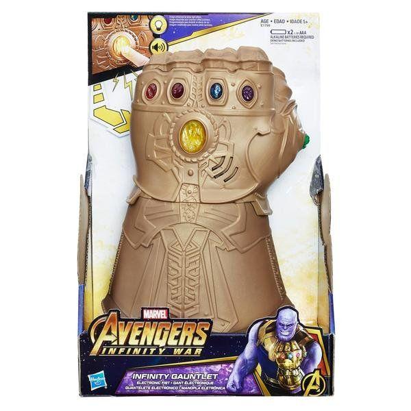 Manopla do Infinito (Infinity Gauntlet): Vingadores Guerra Infinita (Avengers Infinity War) - Hasbro