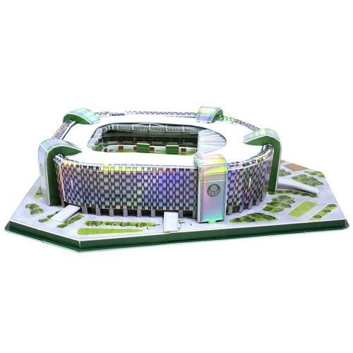 Maquete Estádio Allianz Parque Arena Palmeiras 3D com 107 peças