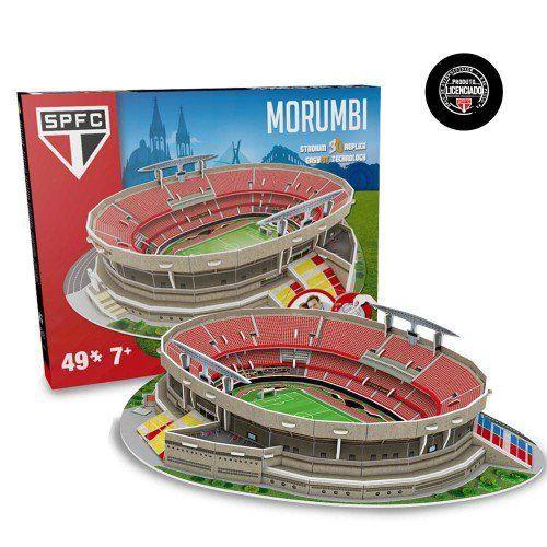 Maquete Estádio do Morumbi (São Paulo) 3D com 49 peças