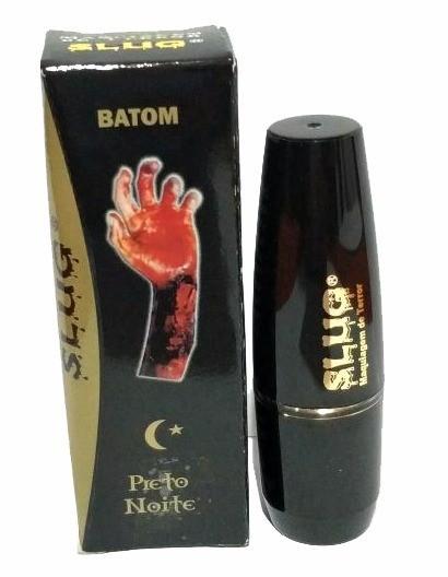 Maquiagem Batom Preto Noite - Slug