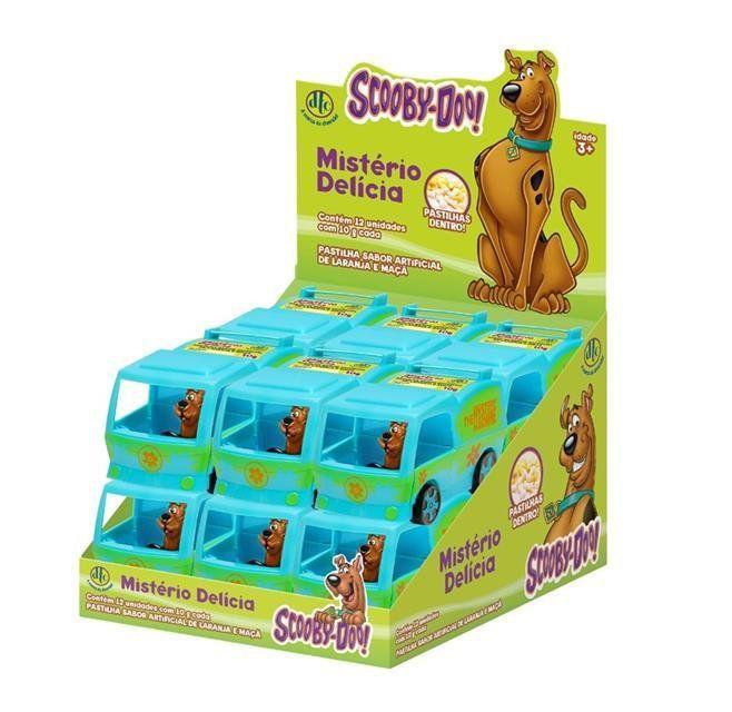 Máquina de Mistério Scooby-doo Pastilha  - DTC