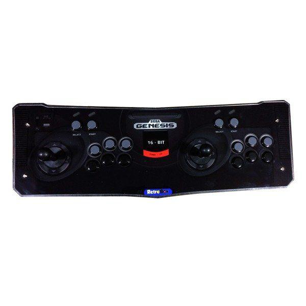 Máquina Fliperama (Controle Duplo Arcade) com desenho Sega Genesis