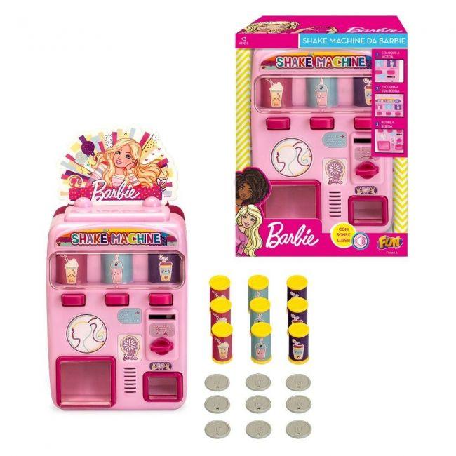 Máquina Shake Barbie: Com Som E Luzes Rosa - Mattel