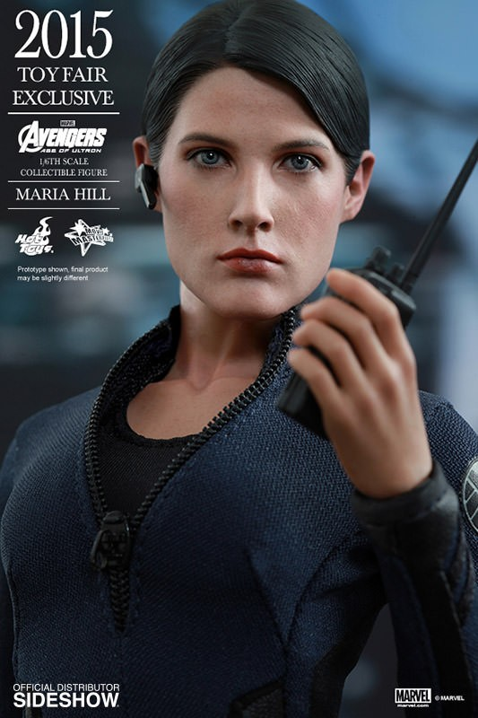 Action Figure Maria Hill: Shield  Escala 1/6 (MMS305) - Hot Toys