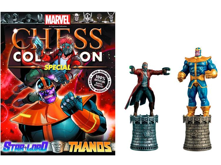 Marvel Chess #03: Star Lord and Thanos - Eaglemoss