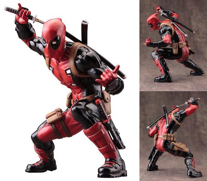 Marvel Deadpool Escala 1/10 ArtFX+ Estatua Kotobukiya