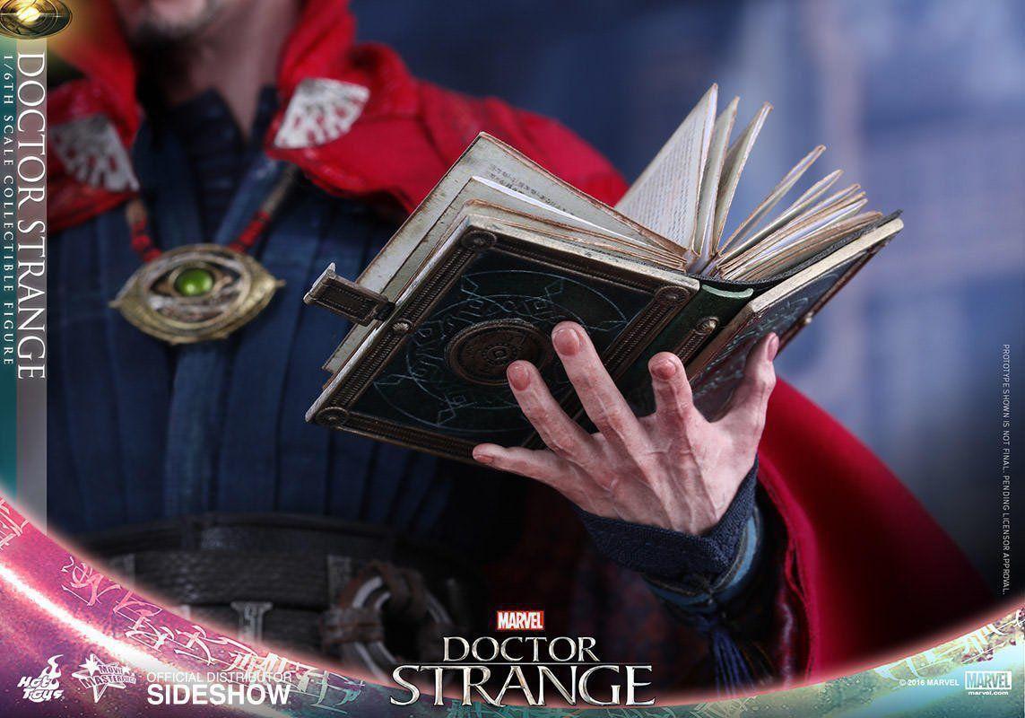 Action Figure Doutor Estranho (Doctor Strange) Marvel (MMS387) Escala 1/6 - Hot Toys - CDL