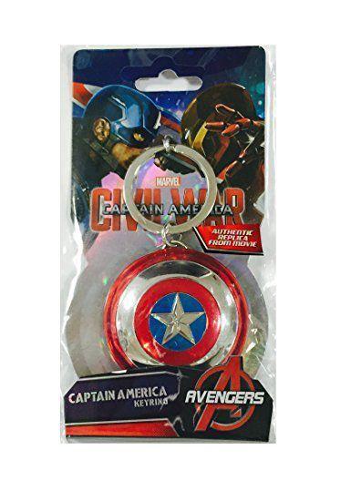 Chaveiro (Keychain) Escudo Capitão América: Guerra Civil - Monogram