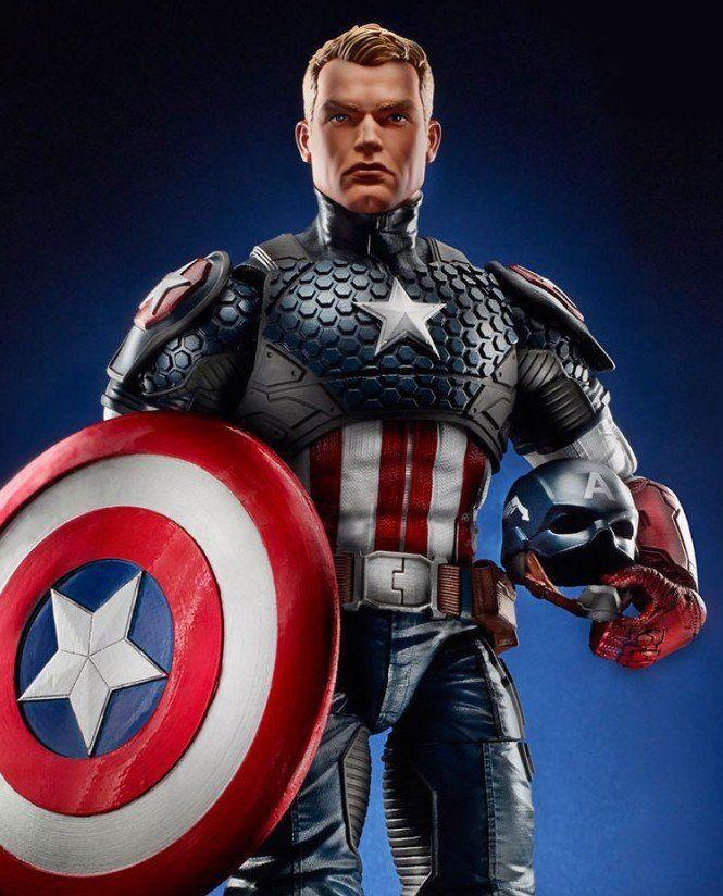 Marvel Legends Series: Capitão América - Hasbro