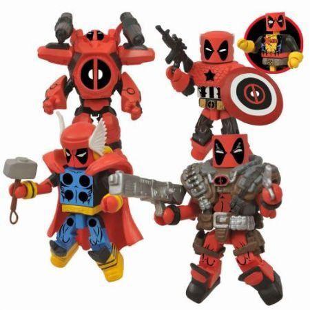 Marvel Minimates Deadpool Assemble Box Set - Diamond