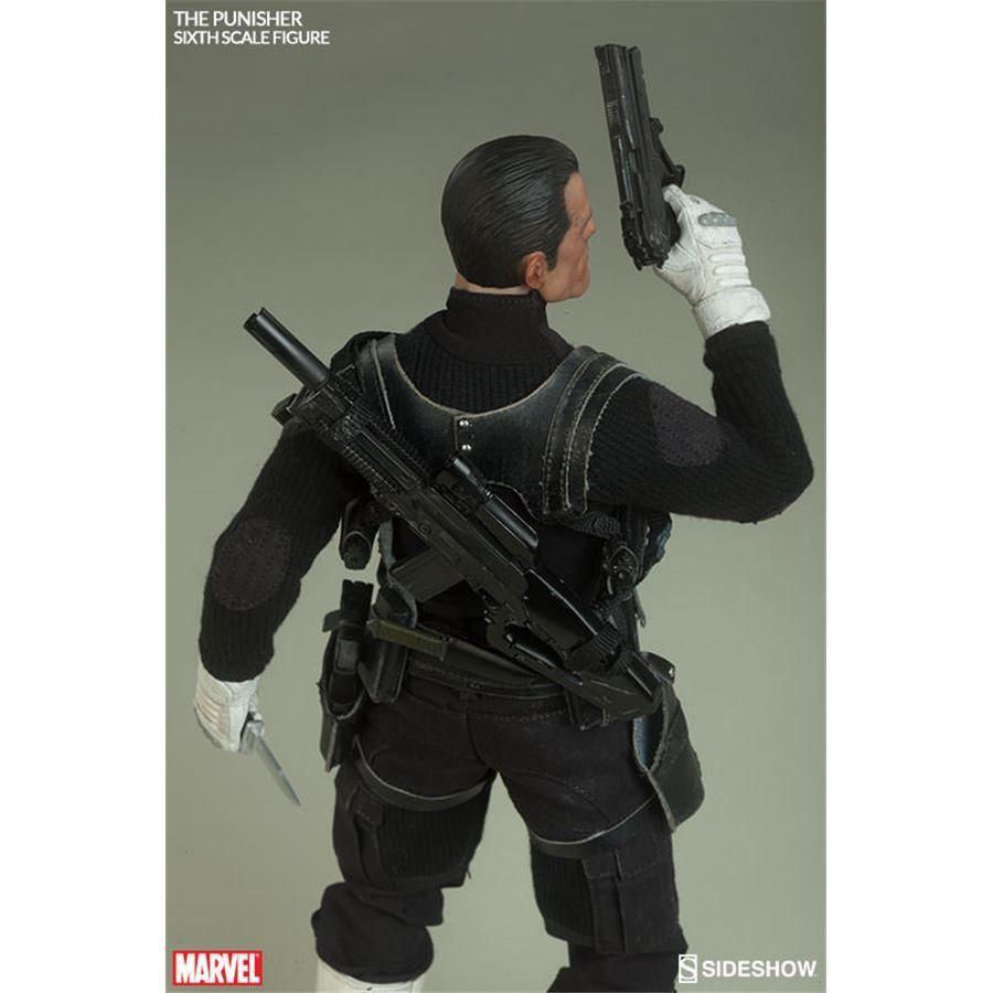 Boneco The Punisher (Justiceiro) Escala 1/6 - Sideshow - CD