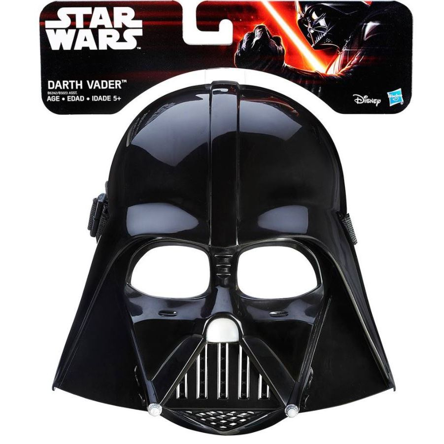 Máscara Básica Darth Vader: Star Wars - Hasbro