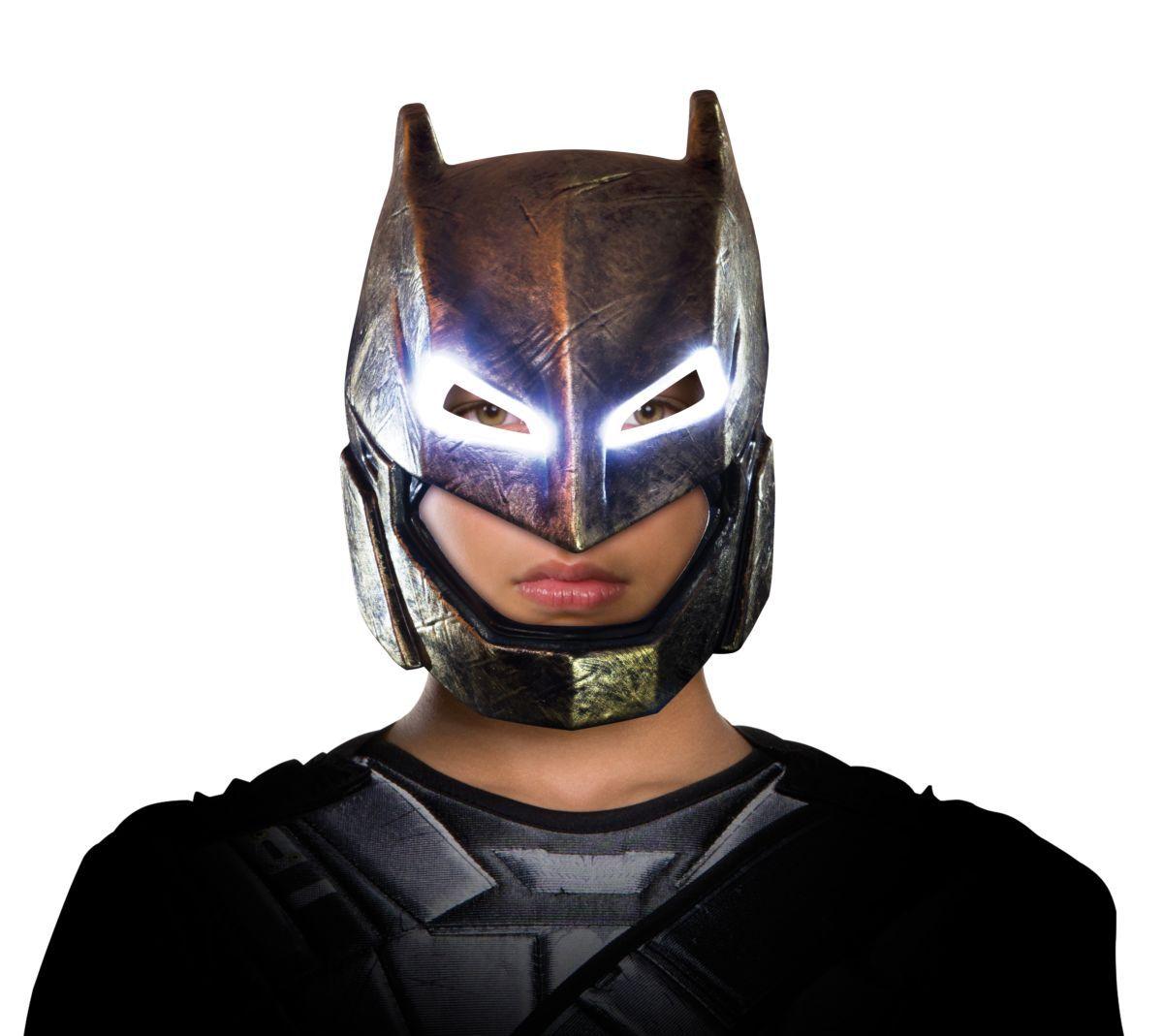 Máscara Batman (Armored): Batman vs Superman: A Origem da Justiça - Rubies Costumes - CD