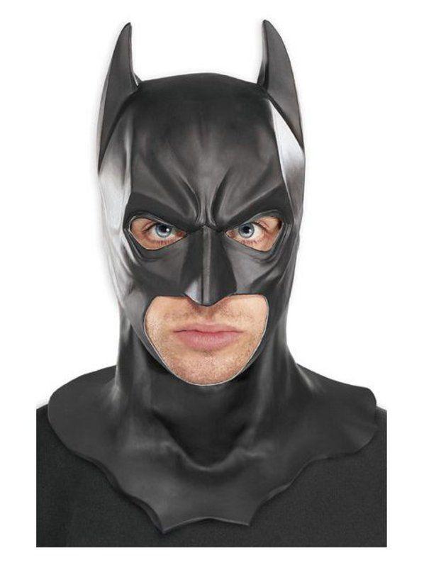 Mascara Batman The Dark Knight trilogy Latex - RUBIES COSTUME CO