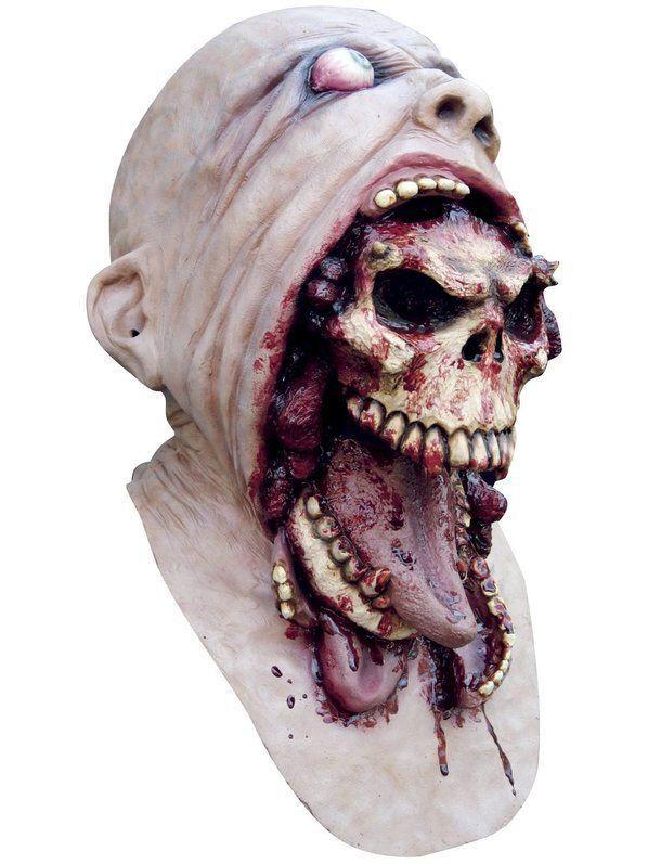 Máscara Caveira Blurp Charlie latex - Rubbies Co