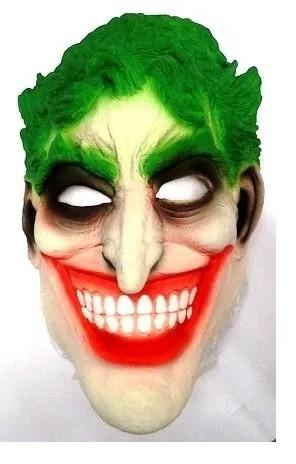 Máscara de Látex Coringa (Joker) (Halloween)