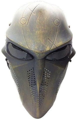 Máscara Vinil Cosplay Reaper: Overwatch (Airsoft)