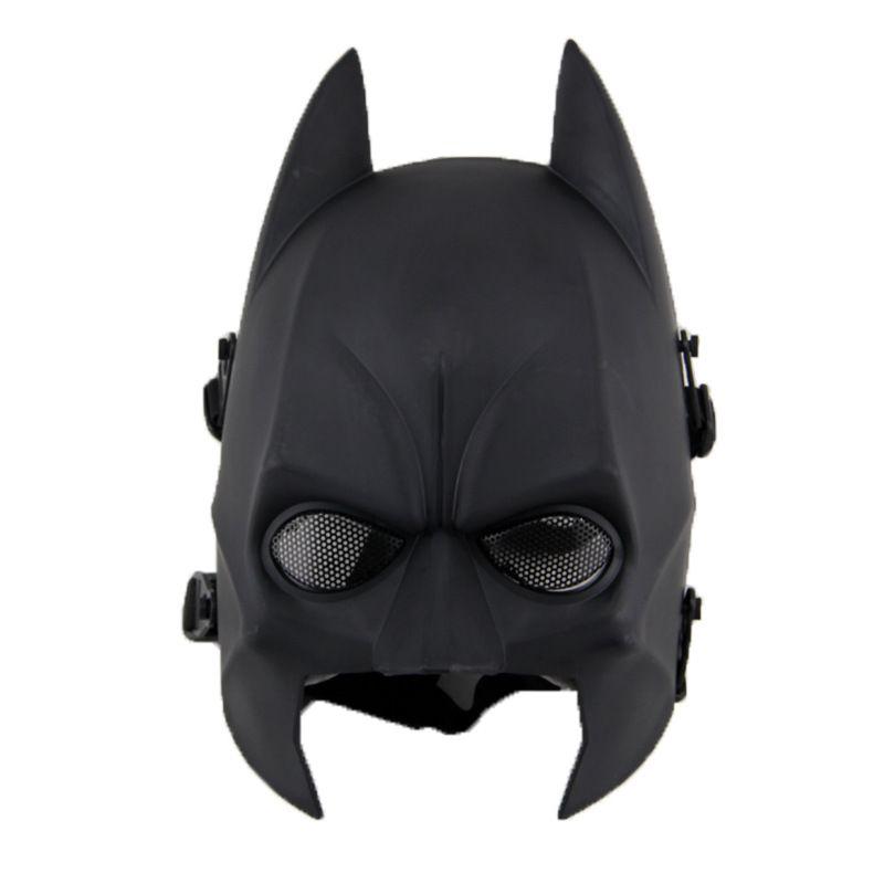 Máscara Vinil Cosplay Batman (Airsoft)
