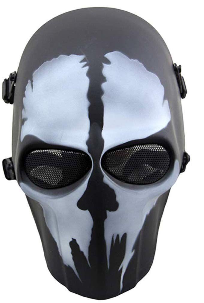 Máscara Vinil Cosplay Ghost (Airsoft)