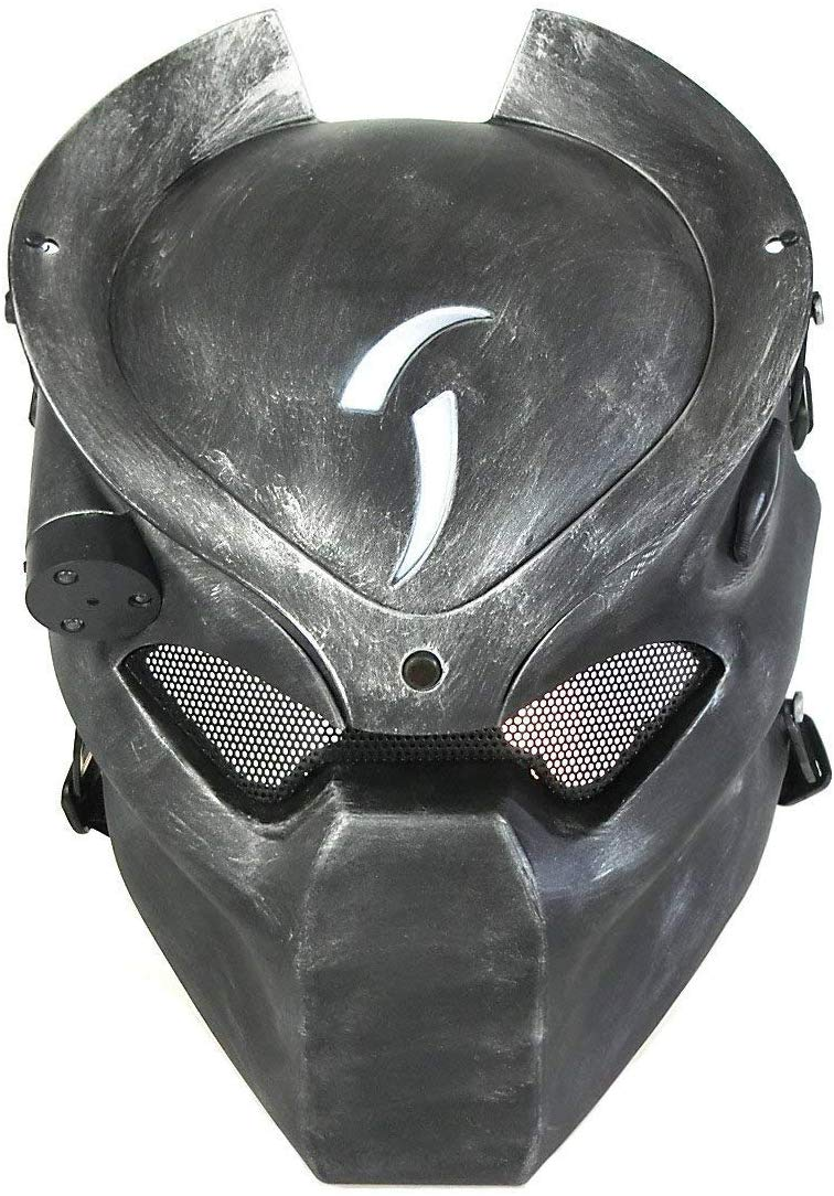 Máscara Vinil Cosplay Predador (Airsoft)