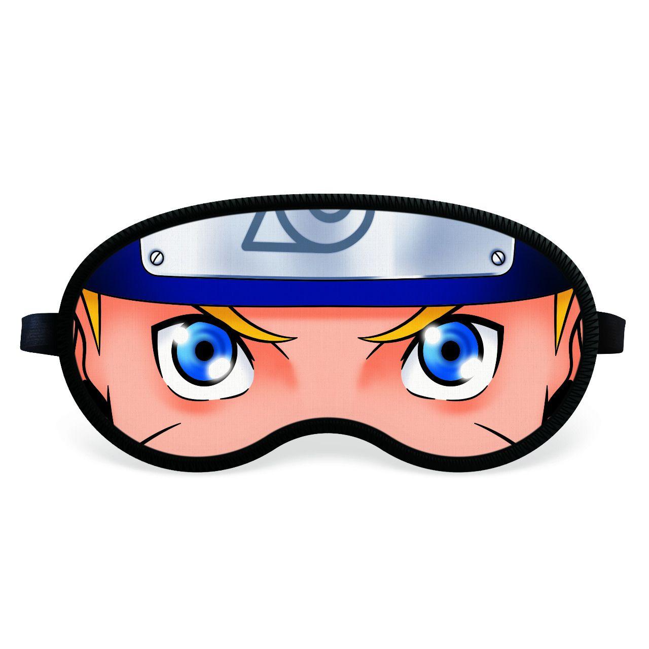 Máscara de Dormir Naruto