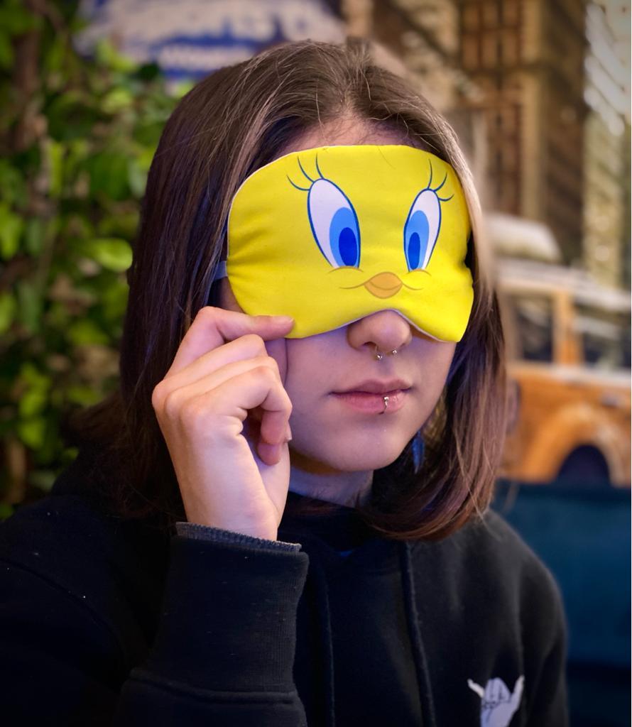 Máscara de Dormir Piu-Piu Tweety Bird: Looney Tunes - EV