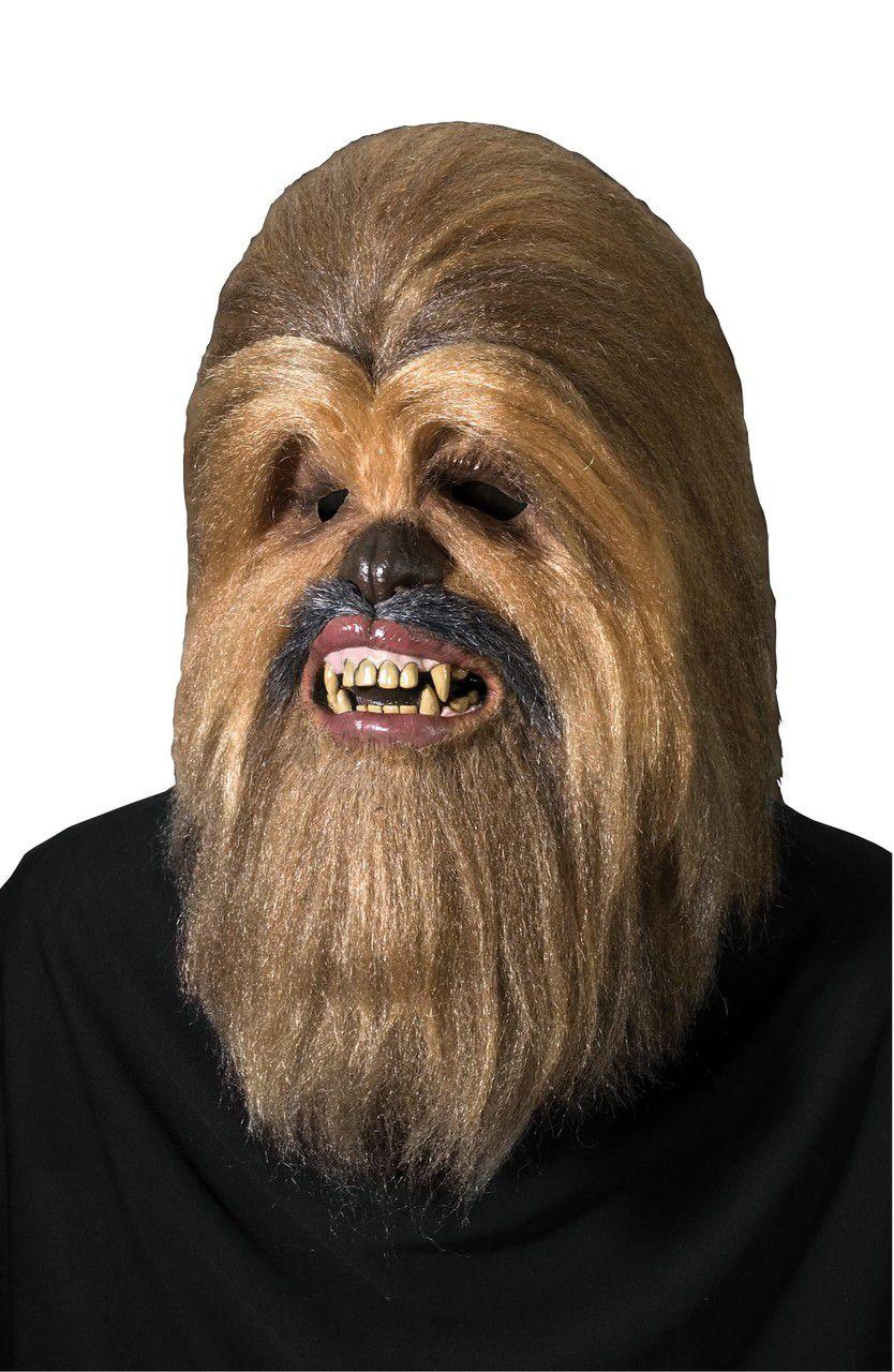 Máscara de Látex Chewbacca: Star Wars (Acessório de Fantasia) - Rubies Costume - CD