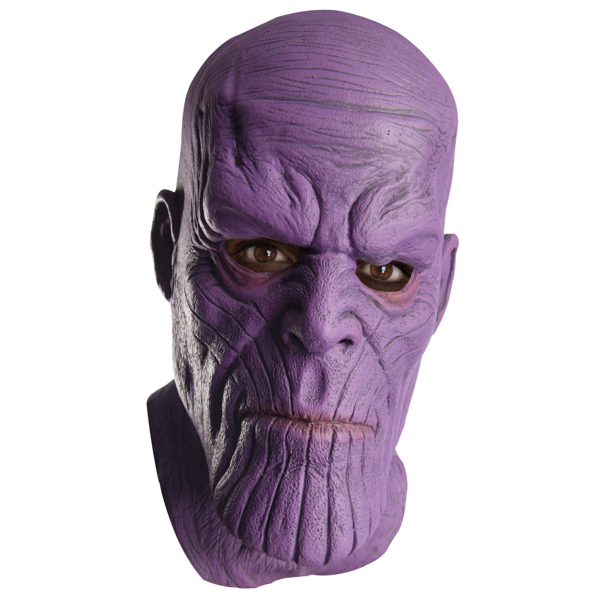 Máscara de Látex Deluxe Thanos: Vingadores Guerra Infinita (Avengers: Infinity War) - Rubies Costumes - CD