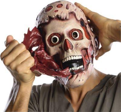Máscara de Látex Duas Faces Freddy Krueger: A Hora do Pesadelo (A Nightmare on Elm Street) - Rubies Costume - CD