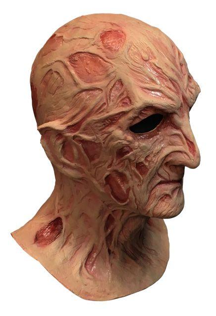 PRÉ VENDA: Máscara de Látex Freddy Krueger: A Hora do Pesadelo O Mestre dos Sonhos (A Nightmare on Elm Street 4) - Trick or Treat Studios