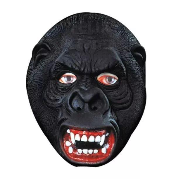 Máscara de Látex Gorila (Acessório de Fantasia)