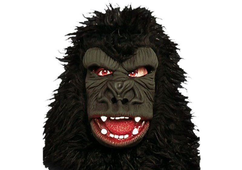 Máscara de Latex Gorila com Capuz (Halloween)