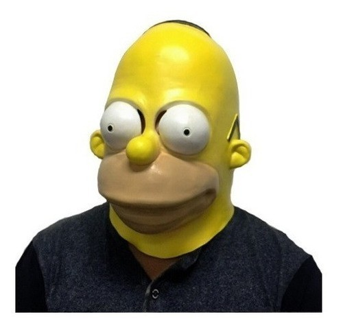 "Máscara de Látex ""Homer Simpson"": Os Simpsons"