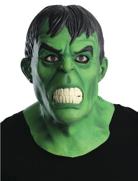 Máscara de Látex Hulk (Acessório de Fantasia) - Rubies Costume - CD
