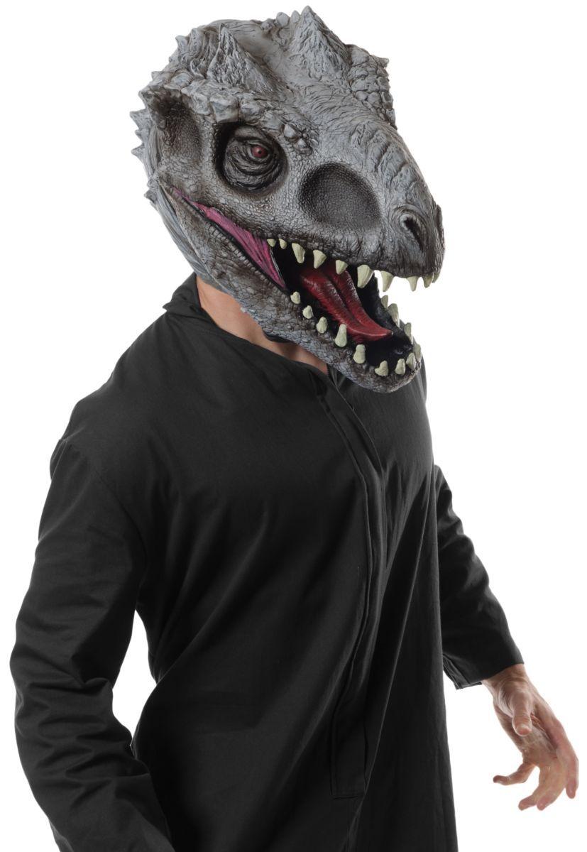 Máscara de Látex Indominus Rex: Jurassic Park (Acessório de Fantasia) - Rubies Costume - CD