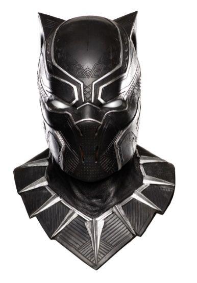 Máscara de Látex Pantera Negra (Black Panther) - Rubies Costume - CD