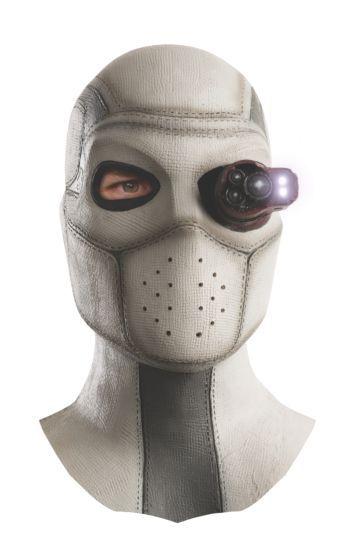 Máscara de Látex Pistoleiro (Deadshot): Esquadrão Suicida (Suicide Squad) (Acessório de Fantasia) - Rubies Costume - CD