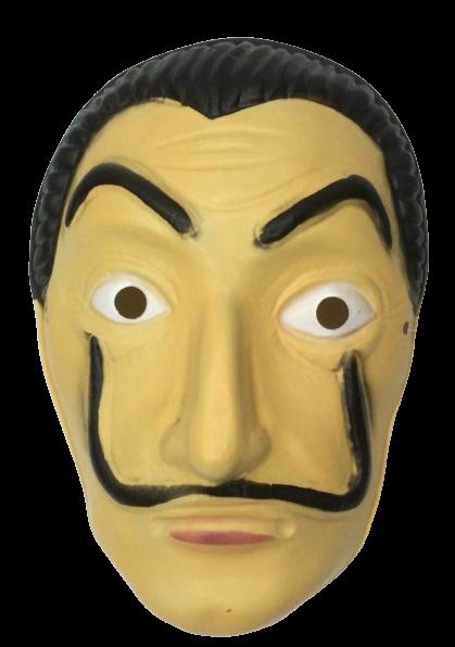 Máscara de Plástico La Casa de Papel - Acessório Fantasia