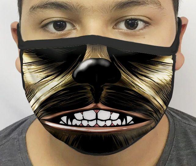 Máscara de Tecido Personalizada Boca Chewee Reutilizável - EV