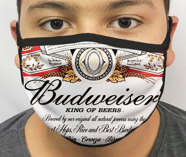 Máscara de Tecido Personalizada Cerveja 3 Lavável Reutilizável - EV
