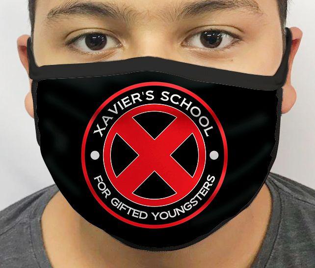 Máscara de Tecido Personalizada Escola Xavier: X-Men Lavável Reutilizável - EV