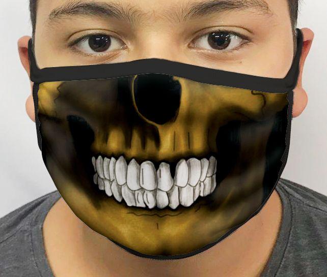 Máscara de Tecido Personalizada Morte Lavável Reutilizável - EV